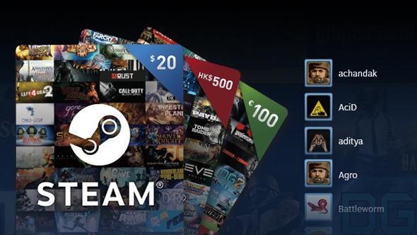 steam digital gift cards