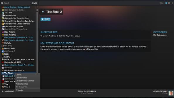 Add non steam games to steam