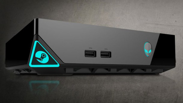 The Alienware Steam Machine. By some way the least ugly of those announced to date.