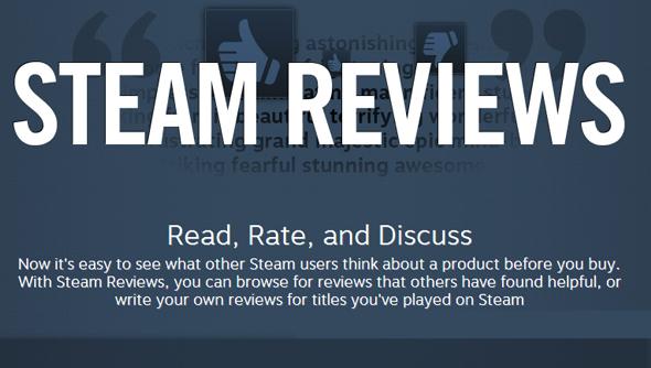 Steam Reviews Valve