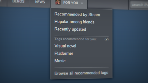 Steam tags were introduced last week, and quickly twisted into new shapes by its community.