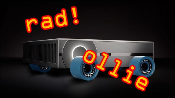 Steam Machine - Skateboard