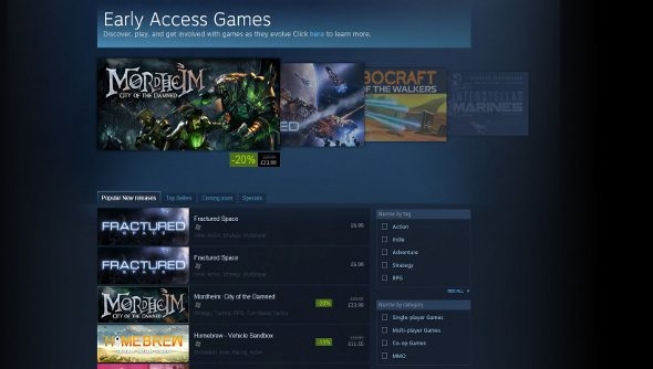 Steam Early Access rules and guidelines
