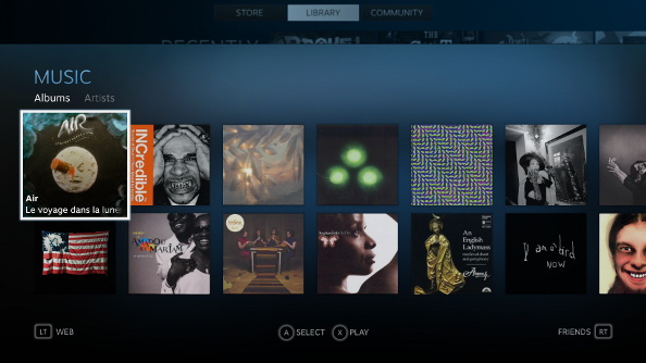 Steam Music introduced, beta coming soon to Big Picture and SteamOS