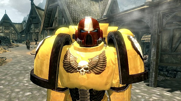 Warhammer 40K Skyrim mod: In the grim darkness of the far future...