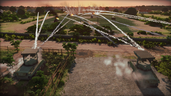 Steel Division RTS fields