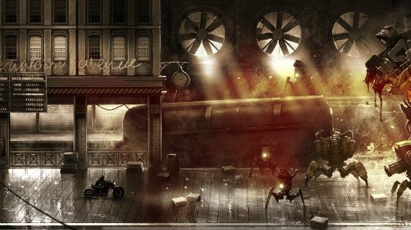 steel rats gameplay street