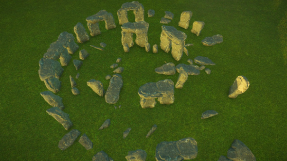 Stonehenge planet coaster creations