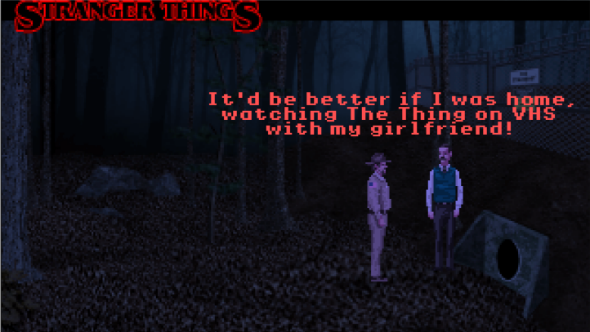 Stranger Things adventure game