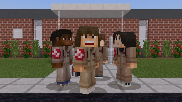 Minecraft celebrates Stranger Things' second season with an official skin pack