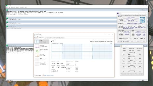 CPU overclocking stress testing