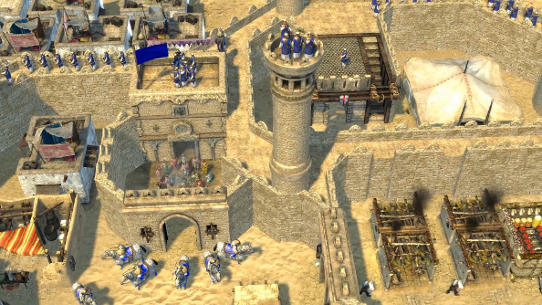 Stronghold Crusader 2 introduces the Sultana, the series' first female opponent