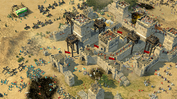 Stronghold Crusader 2 launches (a sack of diseased camel heads over your castle wall) tomorrow