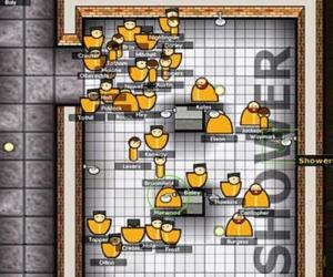 Prison Architect Alpha 28 declutters the interface and fixes wandering doctors