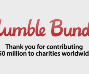 Give yourself a pat on the back: Humble Bundle has raised over $50 million dollars for charity