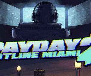 Payday 2 Hotline Miami DLC launches on Tuesday; promises animal masks for all