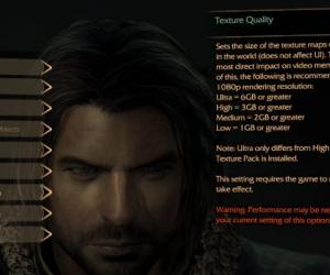 Escalation: Middle-Earth Shadow of Mordor requires 6GB of VRAM for