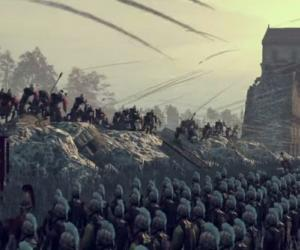 Londinium's burning in this new Total War: Attila siege battle trailer