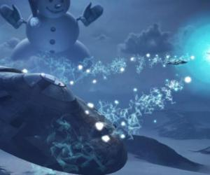 World of Warplanes gets invaded by giant snowmen and UFOs in new winter game mode