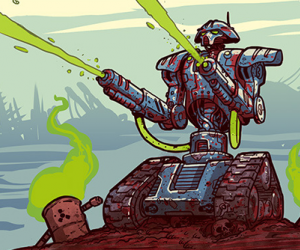 Bedlam Kickstarter ends in success. Bring on the vomiting mutants and cyborgs