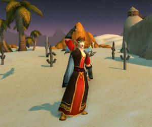Good news, everyone: The World of Warcraft Blood Elf makeover is in progress