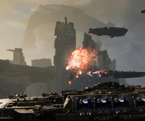 Dreadnought's 10-ship battles are big, messy firework displays