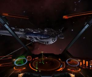 A capital ship invaded the Elite: Dangerous premiere