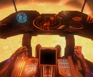 Watch a ship skim a sun in the Elite: Dangerous beta 3 trailer