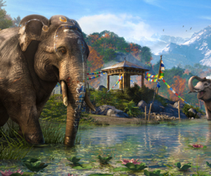 Far Cry 4 trailer elephant is more like an angry tank than a majestic mammal