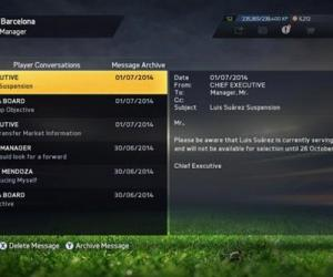 FIFA 15's Luis Suarez serving same suspension as IRL counterpart