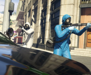 Grand Theft Auto 5 trailer shows multiplayer heists with big loot prizes