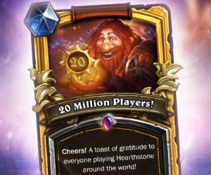 Hearthstone now boasts 20 million players and one very busy tavern