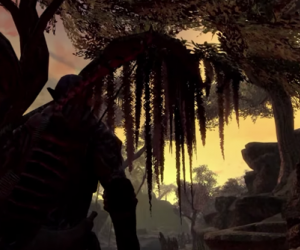 Skywind trailer shows the Slough of Tamriel