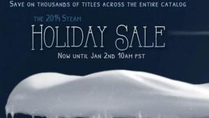 Strap in: the 2014 Steam Holiday Sale has officially launched; here's all the best offers