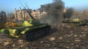 How explosions will fix World of Tanks' camping problem