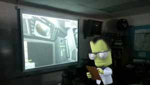 Physics teacher blasts his students into outer-space with Kerbal Space Program