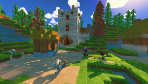 SkySaga: Infinite Isles is a free to play Minecraft with quests