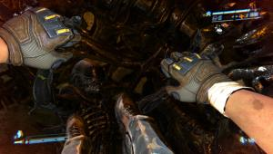 You can play through whole sections of Aliens: Colonial Marines without killing aliens or firing your gun