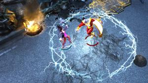 Infinite Crisis videos show off Wonder Woman and Nightmare Batman