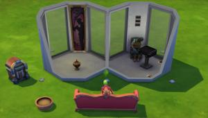 Torturing the elderly in The Sims 4
