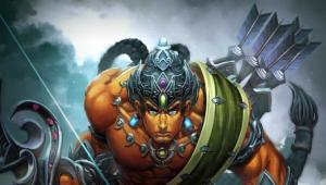 Would you like to own a god? We've got five codes for Smite's new one