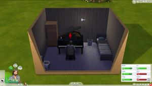 The Sims 4: I trapped a man in a box and forced him to learn to play the piano