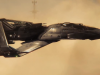 Star Citizen trailer advertises spaceships; lacks visual metaphors of car adverts