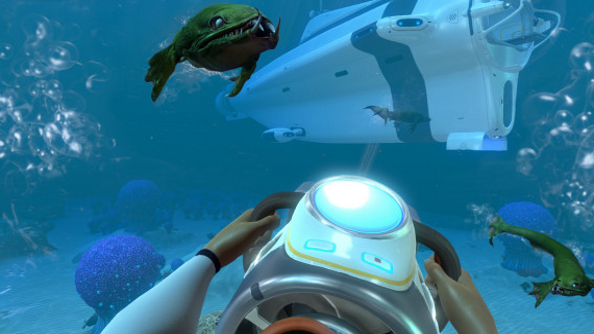 Subnautica screenshots rise up out of the depths