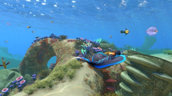 Subnautica's dangerous ocean can be a relaxing place too