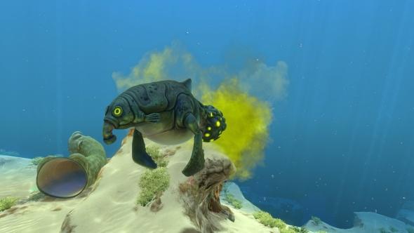 subnautica creatures gasopod