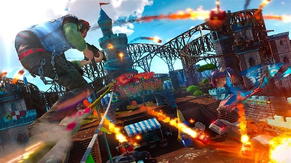 """Insomniac Games would """"love"""" to bring Sunset Overdrive to PC but the """"ball is in Xbox's court"""""""