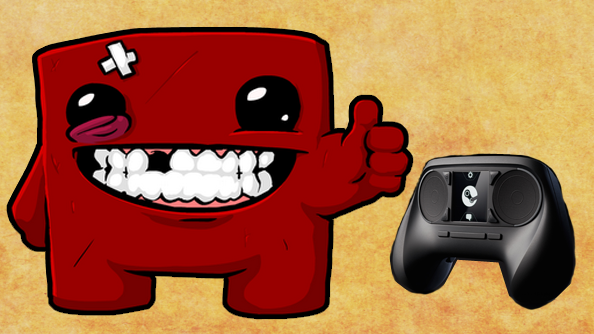 Super Meat Boy creator talks about playing his game on the Steam controller