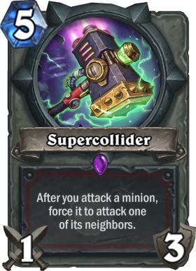 Hearthstone Supercollider