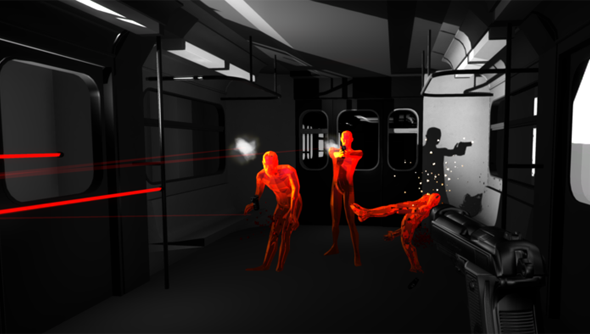 The Superhot Team are busy coming up with new scenarios to match this train scene.